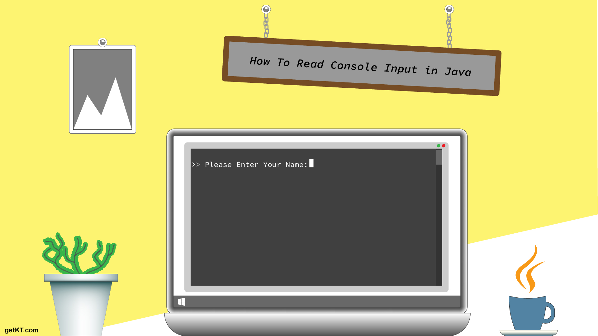 How to read Console Input in java